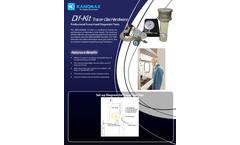 Kanomax - Model ANSI / ASHRAE 110 - DIF-KIT - Tracer Gas Diffuser Kit - Brochure