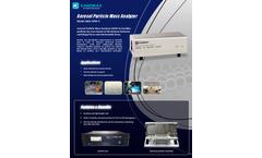 Kanomax - Model APM 3602 - Aerosol Particle Mass Analyzer - Brochure