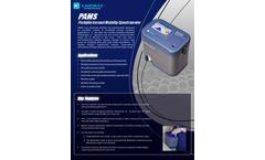 Kanomax - Model PAMS - Portable Aerosol Mobility Spectrometer - Brochure