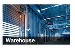 Data loggers and data acquisition monitoring solutions for the warehouse sector - Monitoring and Testing