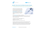 Ten Best Practices For Proper Vaccine Storage - Application Note