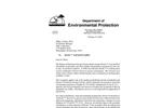KlozurTM Persulfate Florida Acceptance Letter