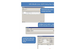 Multi Line Entry SOP Software Brochure