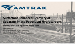 Surfactant Enhanced Recovery of Separate-Phase Petroleum Hydrocarbons