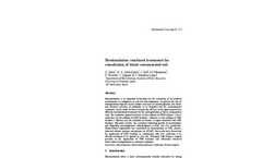 Biostimulation combined treatments for remediation of diesel contaminated soil
