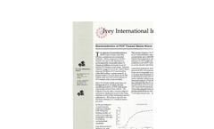 Bioremediation of PCP Treated Waste Wood Brochure