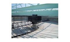 Model EM17  - Peripheral Drive Scraper Bridge for Circular Tank