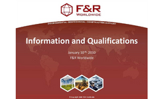 F&R Worldwide Company Brochure