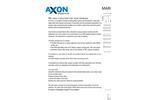 Axon - Marin Filter Brochure