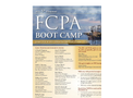 5th FCPA Boot Camp - Houston Edition Brochure