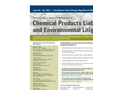 Chemical Products Liability and Environmental Litigation