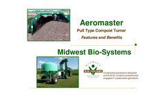 Foot Pull Type Compost Windrow Turner Features Brochure