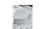 atech Quality Matters - Ceramic Membrane for Micro-filtrations and Ultrafiltration - Brochure