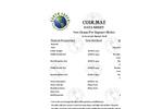 Model 700 Gram Per Square Meter - Coir Mat Datasheet