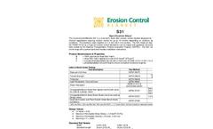 S31 - 16 Standard Roll - Specification Sheet