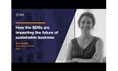 The SDGs and the Future of Sustainability Video
