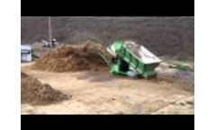 Phase I mushroom compost mixing Video