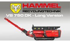 HAMMEL primary shredder VB 750 DK LV