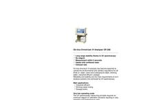 Model CR200 - On-Line Chromium VI Analyser Brochure