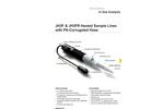 JCT - Model JH3F - Heated Gas Sample Hose - Brochure