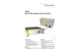 JCT - Model JNOX Series - NO2 to NO Converter - Brochure