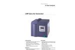 UHP Zero Air Generator Datasheet