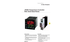 JPXR4 Temperature Controller RGC Solid State Relays Datasheet
