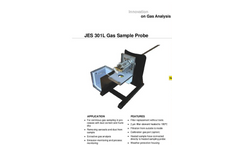 JCT - Model JES-301L - Gas Sampling Probe - Datasheet
