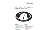 JHAF Heated Filter integrated in Heated JCT-Sample Lines Datasheet