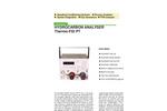 JCT - Model JFID-ES NMHC - Portable Non-Methane Hydrocarbon NMHC Analyzer - Datasheet