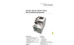 JCC-R / JCC-Q / JCC-P / JCC-L Gas Conditioning Systems - Datasheet