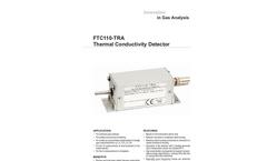 FTC110-TRA Thermal Conductivity Detector - Datasheet