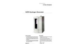 H2PD Hydrogen Generator Datasheet