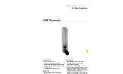JDM Flowmeter Datasheet