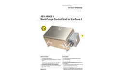 JES-301KE1 Back Purge Control Unit for Ex-Zone 1 Datasheet