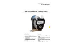 JCT - Model JSR-25 - Condensate / Dosing Pump - Datasheet