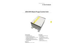 JCT - Model JES-301K - Back Purge Control Unit - Datasheet