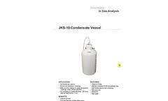 JCT - Model JKS-10 - Condensate Vessel - Datasheet