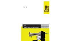 JCT - Model JHPF-301 - Heated Adapter Pipe - Manual