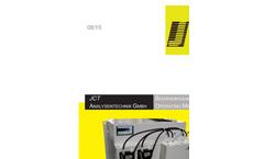 JCT - Model 3 - Grand Sample Gas Cooler (Compressor) - Manual