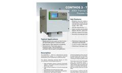 JCT - Model Conthos3-TCD Ex - Thermal Conductivity Gas Analyser ATEX - Datasheet