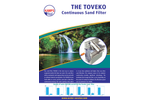 Toveko - Continuous Sand Filter - Brochure
