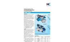 Model HWE, HCE - Pressure Booster Units Brochure