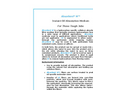 Absorbent - Model W™ - Oil-only Sorbent -  Brochure