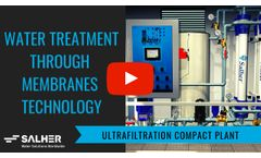 SALHER - Compact ultrafiltration plant for water treatment - Video