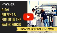 SALHER - Present and future of the water sector: R&D&i - Video