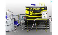 SALHER - DISSOLVED AIR FLOTATION UNIT: VESPA - Video
