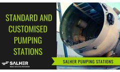 PUMPING STATIONS: Configuration, installation and accessories of Salher Pumping Stations