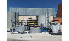 EPC Project. Salher supplies a custom-designed wastewater treatment plant for the meat processors industry