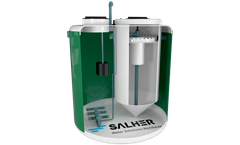 Salher Low-Load Activated Sludge (Extended Aeration) With Inverted Conical Settling Tank CVC - OXIDEP - TC - Datasheet